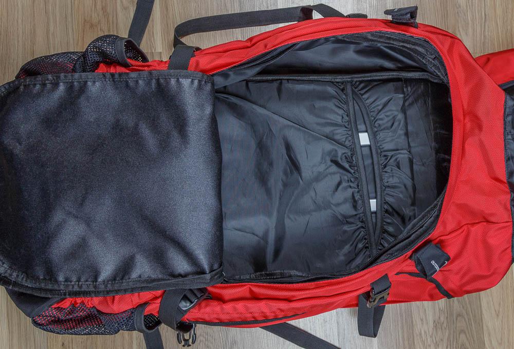 outdoorer atlantis 90 10 trekkingrucksack rucksack test 20. Black Bedroom Furniture Sets. Home Design Ideas